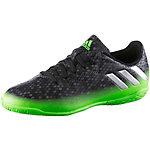 adidas MESSI 16.4 IN J Fußballschuhe Kinder schwarz/grün