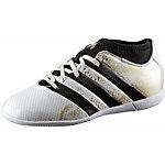 adidas ACE 16.3 IN PRIMEMESH J Fußballschuhe Kinder weiß/gold