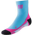 CEP Short Laufsocken Damen blau/pink