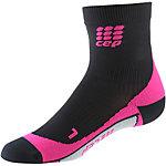 CEP Short Laufsocken Damen schwarz/pink