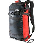 The North Face Slackpack 20 Tourenrucksack dunkelgrau/rot