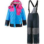 ICEPEAK Skianzug Mädchen blau/rosa/schwarz