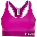 Under Armour HeatGear Armour Mid Sport-BH Damen violett