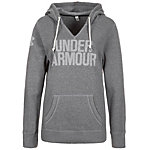 Under Armour AllSeasonGear Favorite Hoodie Damen grau / weiß