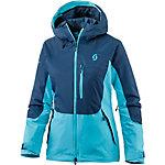 SCOTT Ultimate Dryo Plus Skijacke Damen türkis/dunkelblau