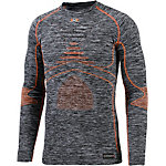 X-Bionic Accumulator Evo Funktionsshirt Herren graumelange/orange