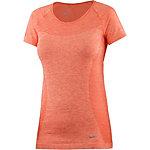 Nike Dri-Fit Knit Laufshirt Damen orange