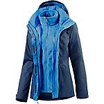The North Face Evolve II Triclimate Outdoorjacke Damen blau