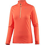 Nike Element Laufshirt Damen orange