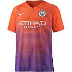 Nike Manchester City 16/17 CL Fußballtrikot Herren orange