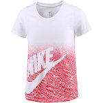 Nike T-Shirt Mädchen weiß/korall