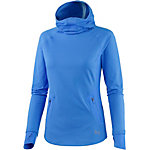 Under Armour No Breaks Balaclava Laufhoodie Damen blau