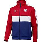 adidas FC Bayern München Trainingsjacke Herren rot/weiß/blau