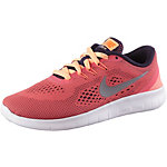 Nike Free Laufschuhe Kinder koralle