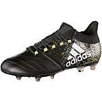 adidas X 16.2 FG Leather Fußballschuhe Herren schwarz/gold