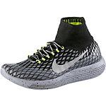 Nike Lunarepic Flyknit Shield Laufschuhe Damen schwarz/silber