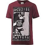 Shine Original T-Shirt Herren bordeaux