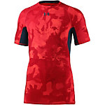 Under Armour HeatGear Kompressionsshirt Herren rot