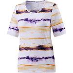 Joy Amada T-Shirt Damen weiß/orange