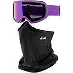 Anon Deringer Snowboardbrille Damen lila