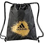 adidas X Turnbeutel schwarz/gold