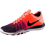 Nike Free TR 6 Fitnessschuhe Damen orange/dunkellila