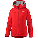 The North Face Descendit Skijacke Damen rot