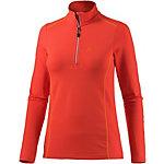 Maier Sports Janetta Layerlangarmshirt Damen orangerot