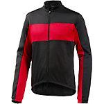 VAUDE Matera III Fahrradtrikot Herren schwarz/rot