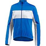 VAUDE Matera III Fahrradtrikot Herren blau/weiß