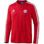 adidas FC Bayern München Langarmshirt Herren rot/weiß