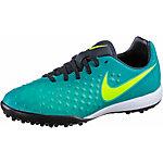 Nike JR MAGISTAX OPUS II TF Fußballschuhe Kinder grün/blau