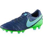 Nike TIEMPO LEGACY II FG Fußballschuhe Herren blau/grün