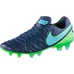 Nike TIEMPO LEGEND VI FG Fußballschuhe Herren blau/grün