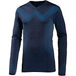 Bogner Marguns Skishirt Herren schwarz/blau