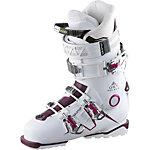 Salomon Qst Pro 80 W Skischuhe Damen weiß/burgund