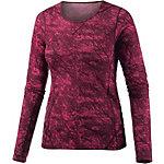 Odlo Livigno Revolution Warm Langarmshirt Damen sangria