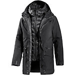 Jack Wolfskin The Shoreditch Doppeljacke Herren schwarz