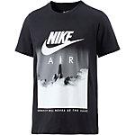 Nike NSW Printshirt Herren schwarz