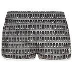 adidas Pavao Shorts Damen schwarz / weiß