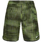 Nike Court Gladiator Printed Tennisshorts Herren neongelb / schwarz