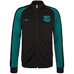 Nike FC Barcelona Authentic N98 Track Trainingsjacke Herren schwarz / grün