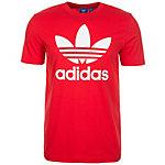 adidas Originals Trefoil T-Shirt Herren rot / weiß