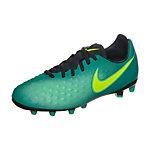 Nike Magista Opus II Fußballschuhe Kinder türkis / neongelb