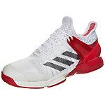 adidas adizero Ubersonic 2 Tennisschuhe Herren weiß / rot / schwarz