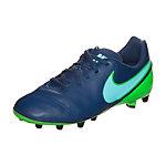 Nike Tiempo Legend VI Fußballschuhe Kinder blau / grün
