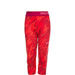 Nike Pro Capri Allover Print Tights Mädchen rot / fuchsia