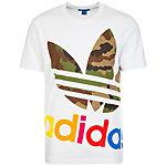 adidas Block It Out T-Shirt Herren weiß / bunt