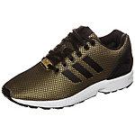 adidas ZX Flux Sneaker Damen gold / schwarz