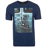CONVERSE Hanging Chucks Photo T-Shirt Herren dunkelblau / türkis